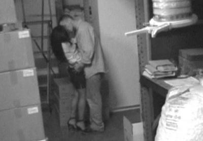 storeroom sex voyeur